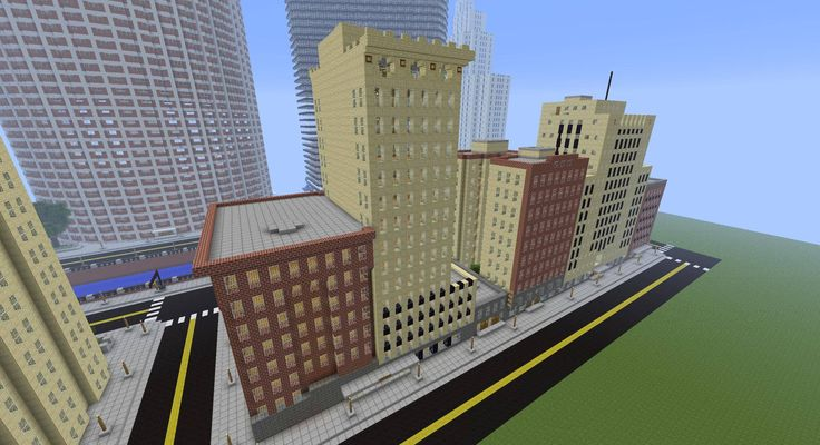 Buildings In A City Minecraft