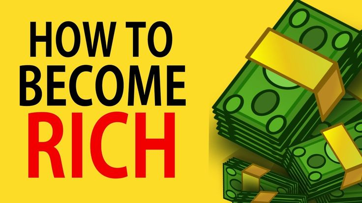 How To BECOME RICH - 4 WAYS To Become RICH https://www.youtube.com/watch?v=vt8CiePok4U