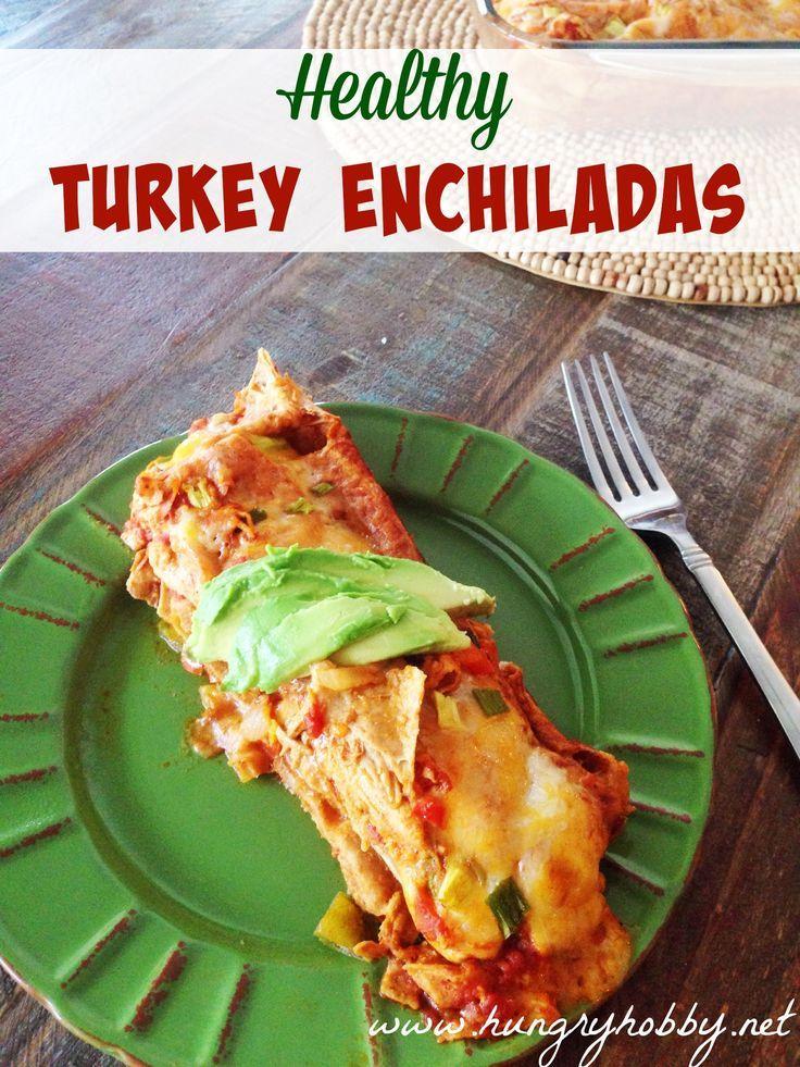 My favorite part of Thanksgiving?  This leftover Turkey Enchiladas!