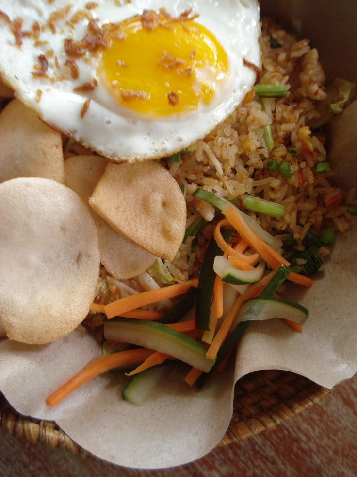 Nasi Goreng Ayam - you choice of chicken fried rice #bali #bar #restaurant #food #lunch #dinner #kuta #tuban #indonesia
