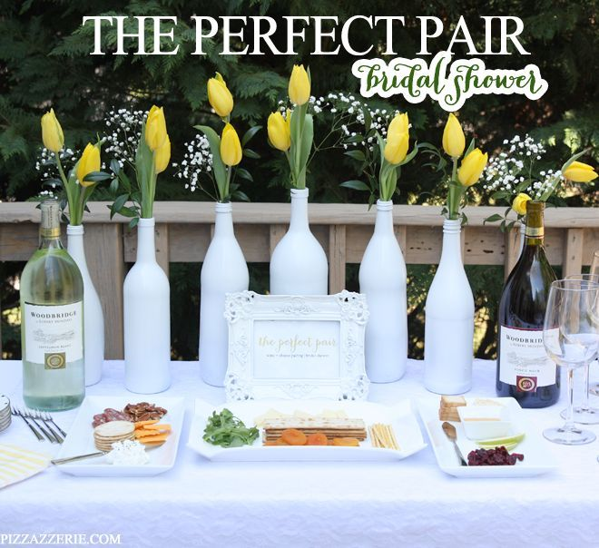 """wine and cheese bridal shower 