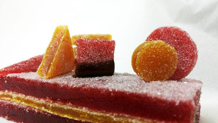 Ζελεδάκια από πουρέ φρούτων | ION Sweets