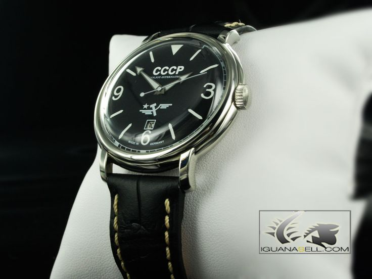 Poljot International CCCP 1937 Automatic-Hand Wind. Watch -Slava 2416