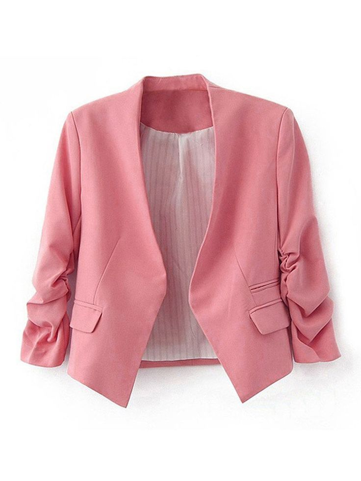 Move your mouse over image or click to enlarge Women's Folding Sleeve Office Blazer Women's Folding Sleeve Office Blazer Women's Folding Sleeve Office Blazer Women's Folding Sleeve Office Blazer