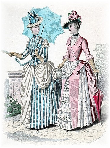 Fashion for woman, 1888