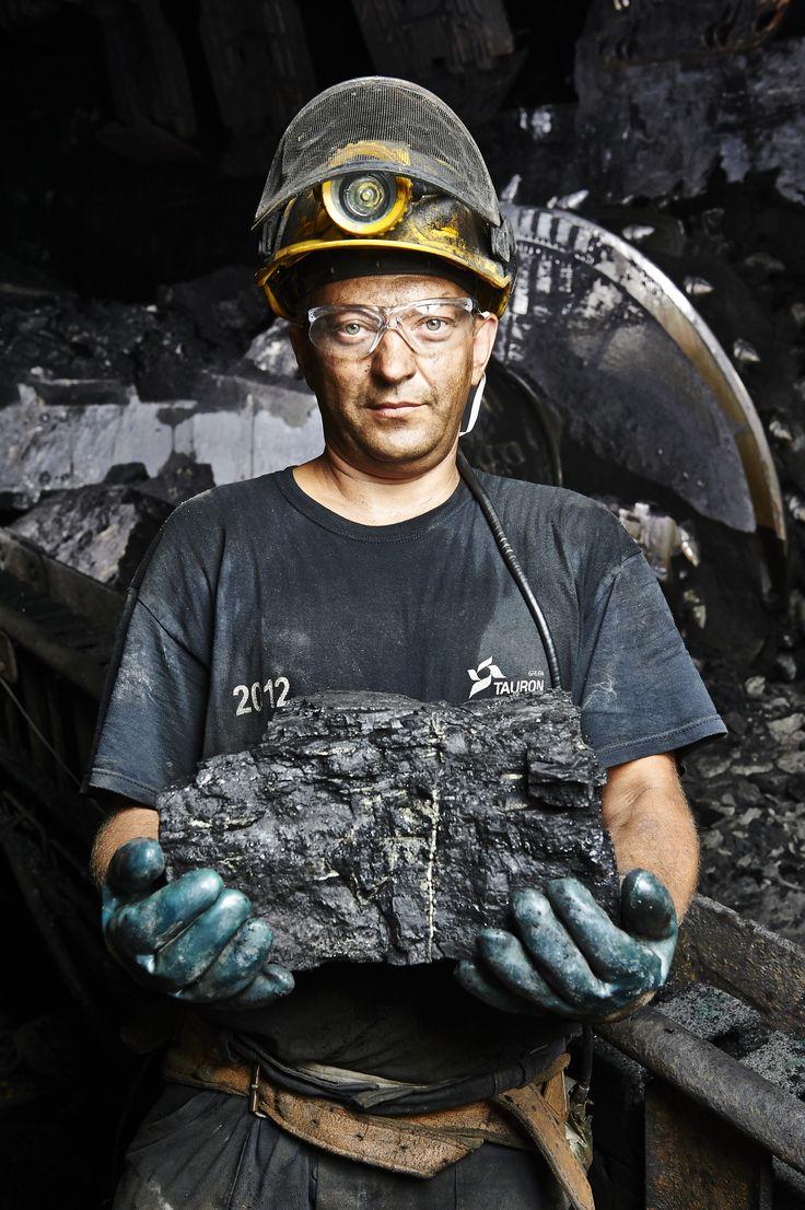 Polskie Fabryki TAURON - górnik, węgiel