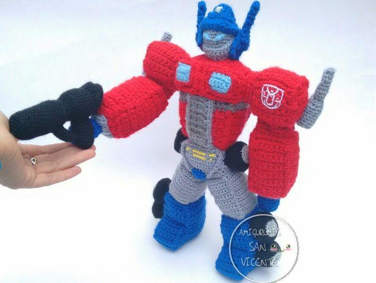Amigurumi Transformers para Imprimir