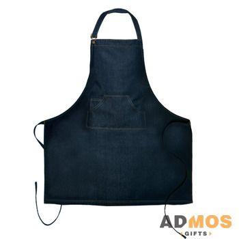 Фартук DNM Master, темно-синий джинсовый/deep blue denim, один размер - 2453630-891  2772