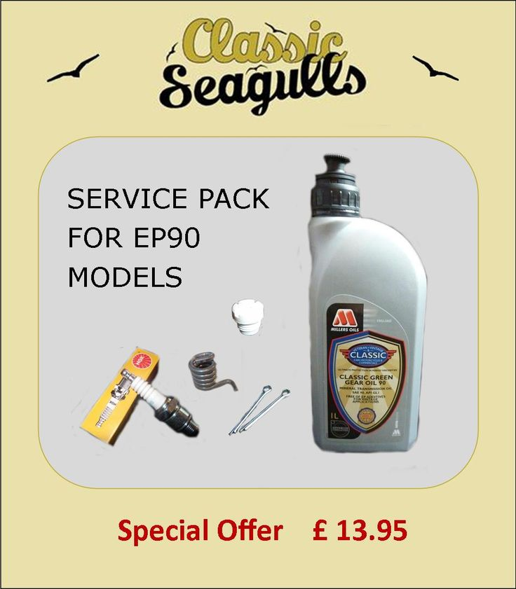 Service pack for British Seagull EP90 Models