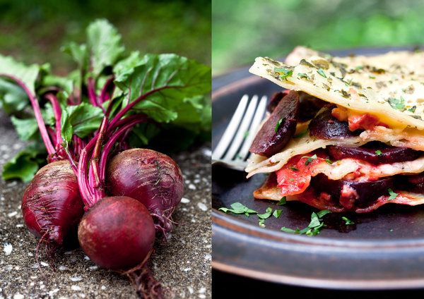 Lasagna With Roasted Beets and Herb BéchamelBeets Salad, Beets Lasagna, Herbs Béchamel, Roasted Beets, Thanksgiving Recipe, Vegetarian Recipe, Healthy Recipes, New York Times, Nytimes Com