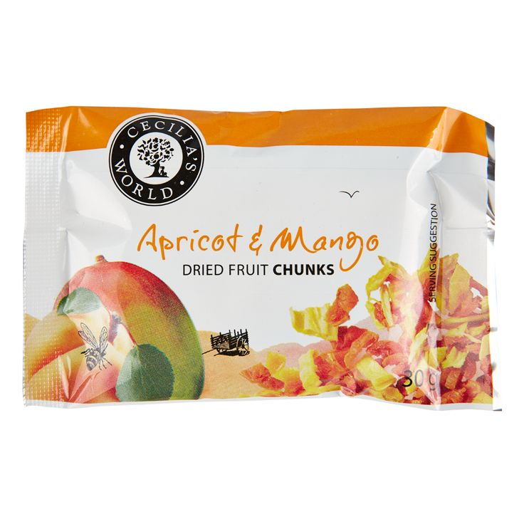 A heavenly combination of tart Royal apricots and delicious sweet Lowveld mango pieces, all cut to perfect bite sizes. These two are complimentary textures and flavours and give your mouth a wonderful taste wake-up call! http://ceciliasfarm.co.za/product/apricot-mango-chunks-2/