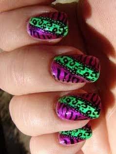 German Nails Art Design Idea