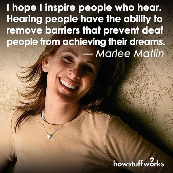 If i could have dinner with any person in the world it would be Marlee Matlin because she is a really big inspiration to me and I love her silly personality