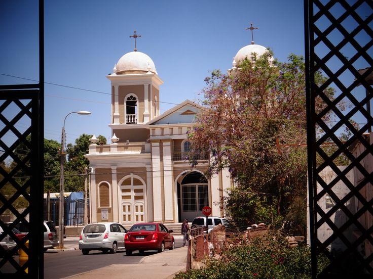 Iglesia de San Andrés, en el Oasis de Pica.