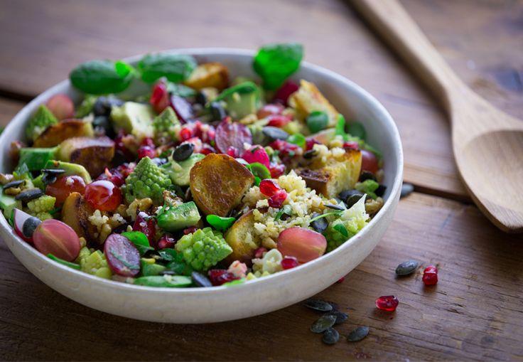 #Ensaladas con Productos de Temporada #otoño #recetas