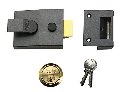 From 27.99:Yale Locks P89 Deadlock Nightlatch Chrome 60 Mm Backset Visi Pack