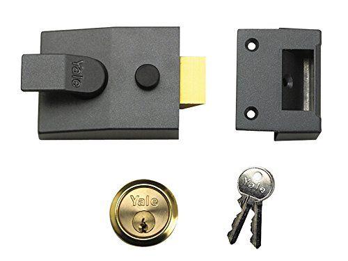 From 27.99:Yale Locks P89 Deadlock Nightlatch Chrome 60 Mm Backset Visi Pack