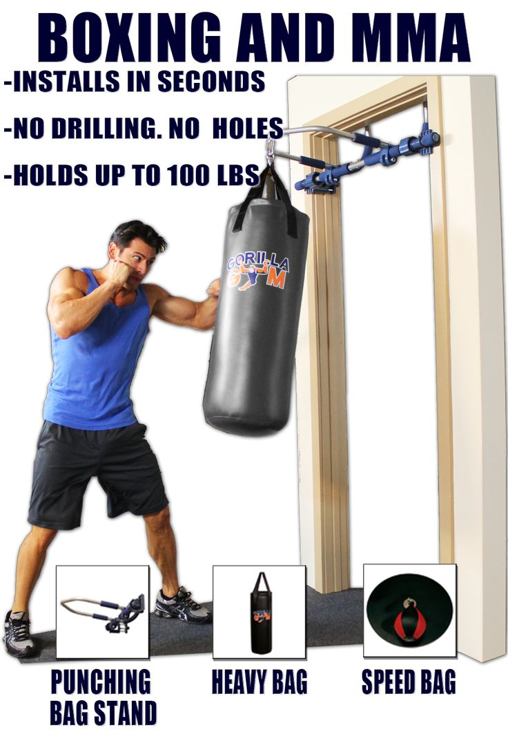 Boxing and mma training in your home healthy life style