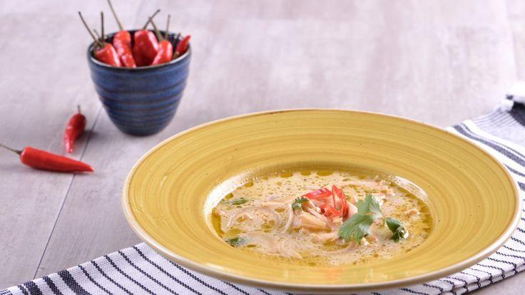 Sopa de pollo tailandés - Julius - Julio Bienert - Receta - Canal Cocina