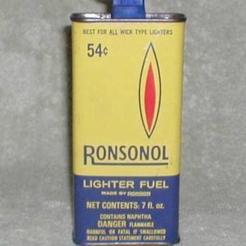 My father used this to fill his zippo lighter.  Loved the sound it made when you closed the lid and the way it smelled (the lighter, not the fluid ;).