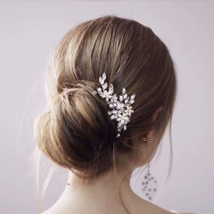 #hairstyles #bridalhair #bridalaccessories #weddinghairstyles #weddinghair #bridesmaidhair