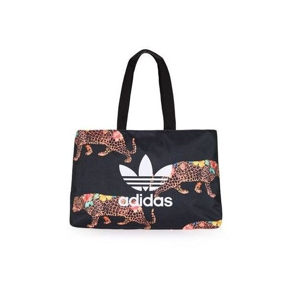 Oncada Shopper by Adidas Originals (32.220 CLP) ❤ liked on Polyvore featuring bags, handbags, tote bags, multi, print tote, print handbags, topshop handbags, print shopping bags and print purse