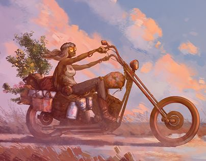 """Check out new work on my @Behance portfolio: """"Digital Painting"""" http://be.net/gallery/53680527/Digital-Painting"""