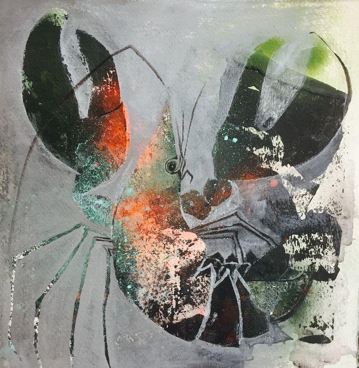 Lobster, art, kreeft, kunst