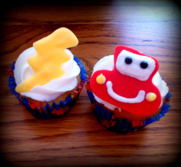 Could Just Find Cars Rings And Put In Cup Cakes Yummy In