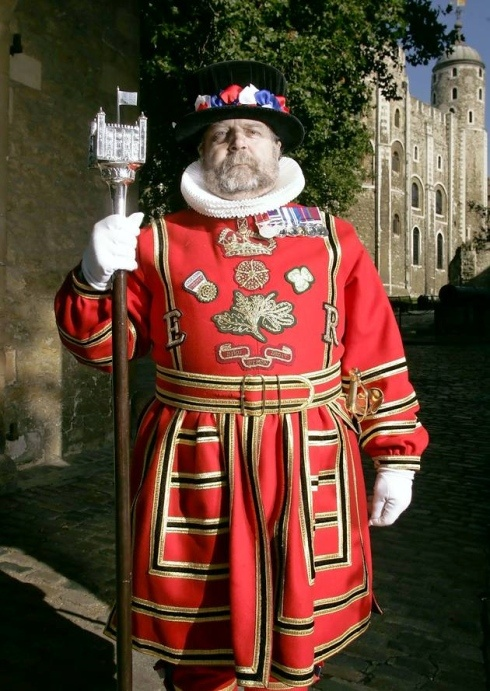 Yeoman Warder (Beefeater) at the Tower of London