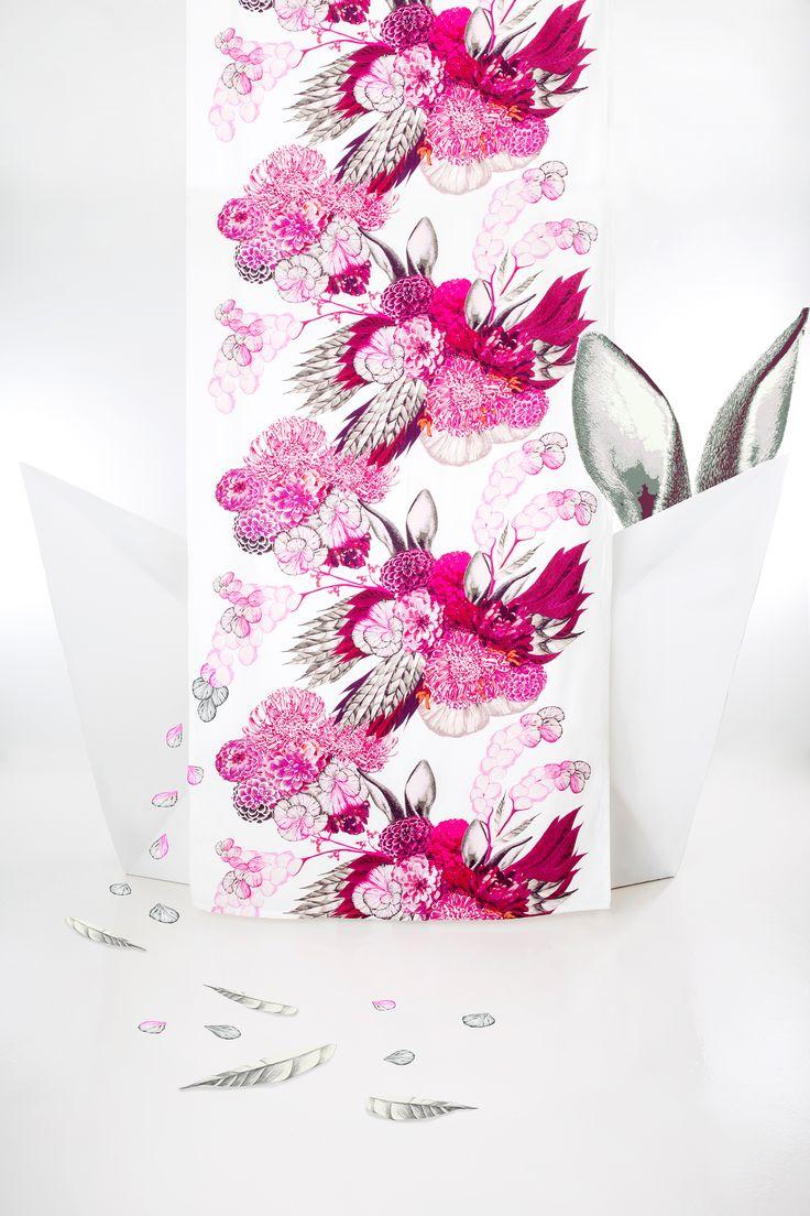 Pupulus curtain (pink)