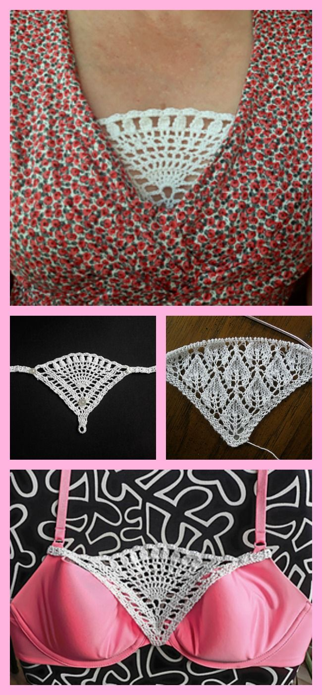 Knit / Crochet Modesty Panel – Free Patterns