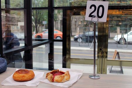 Alforno Bakery is now open in Downtown Calgary.Love the food at this place and the atmosphere, as well.