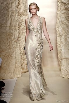 Merveilleux Second Time Around Wedding Dresses | Wedding Dress Inspiration From Donna  Karan Spring Ready To Wear