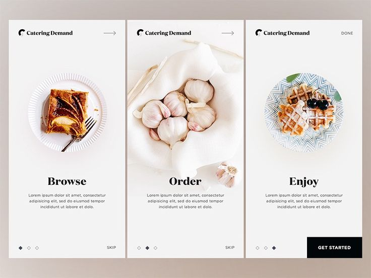 20 Fresh Food Mobile App Designs For Your Inspirat…