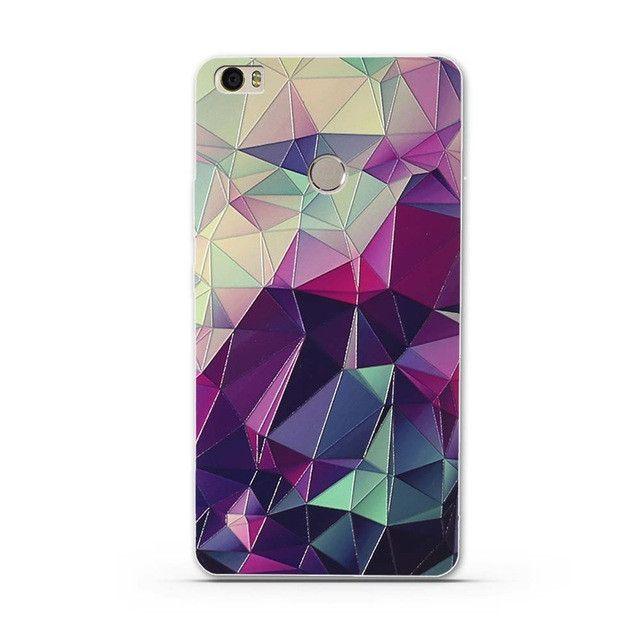 "Soft TPU Case for Xiaomi Mi MAX Silicone Cover For Xiaomi Max Luxury Flower Print Phone Case Shell For Xiomi Mi Max MiMax 6.44"""