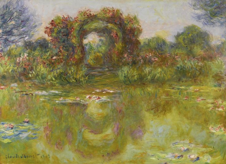 """Claude Monet was the #3 best selling artist at auction in 2015. His work """"Bassin aux Nympheas"""" is shown here. To see the entire list of the Top Ten Artists at auction of 2015 visit Robin Rile Fine Art."""