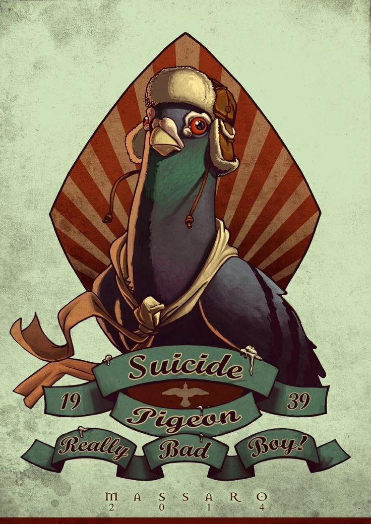 Suicide Pigeon