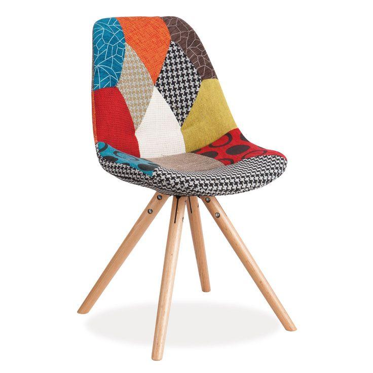 17 meilleures id es propos de chaise en patchwork sur for Chaise patchwork