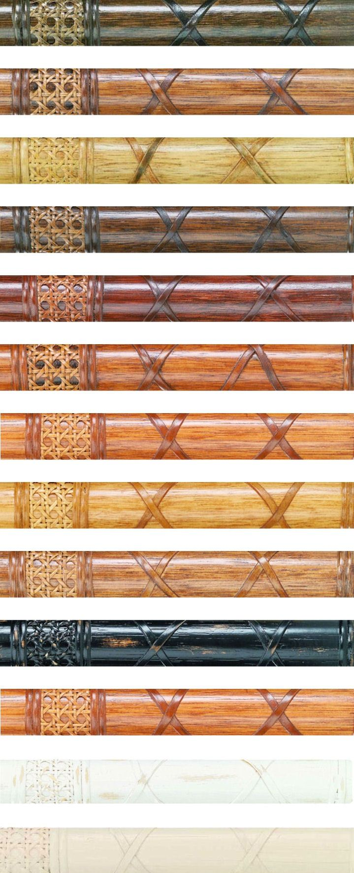 Rattan Furniture Stain finishes for seating and dining
