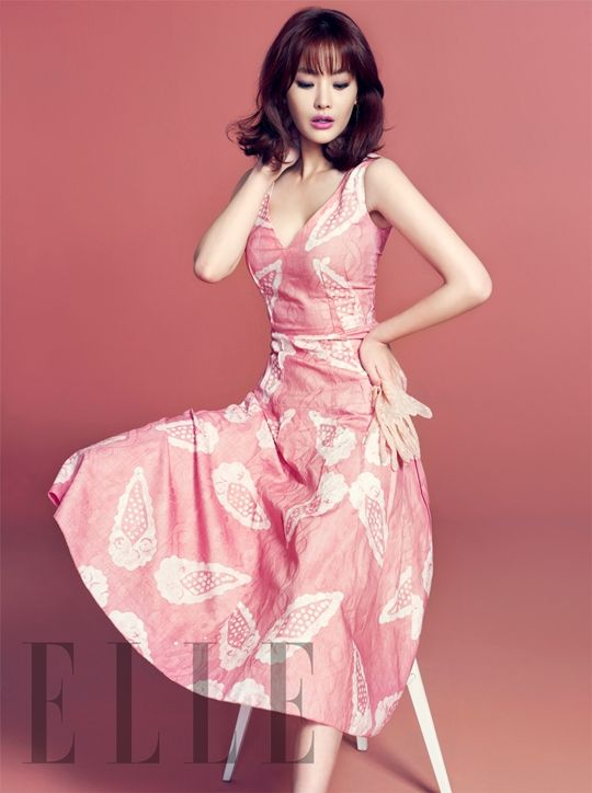 Oh Yeon-seo // Elle Korea // April 2013
