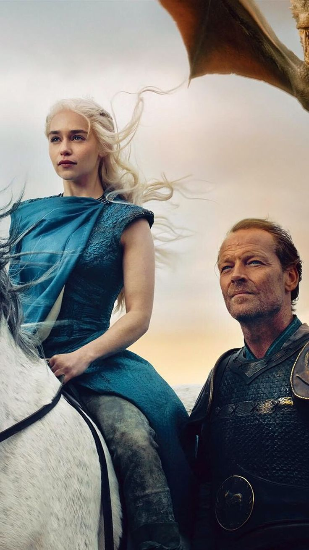 Daenerys and Jorah The Andal