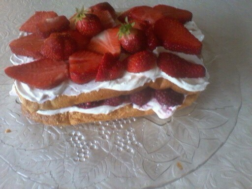 Slimming world cake....) syns ,so you can eat it all if you want !