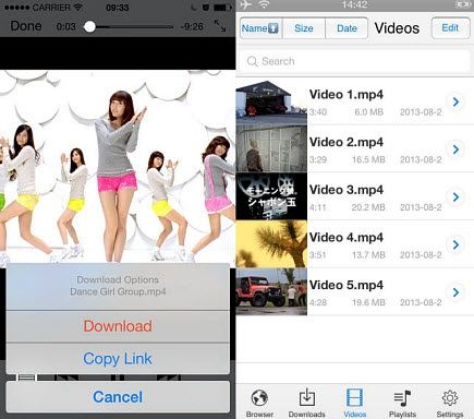 free tv shows download on iPhone