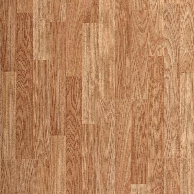 Project Source Natural Oak 8 05 In W X 47 63 In L Smooth Wood Plank Laminate Flooring Lowes Com In 2020 Oak Laminate Laminate Flooring Oak Laminate Flooring