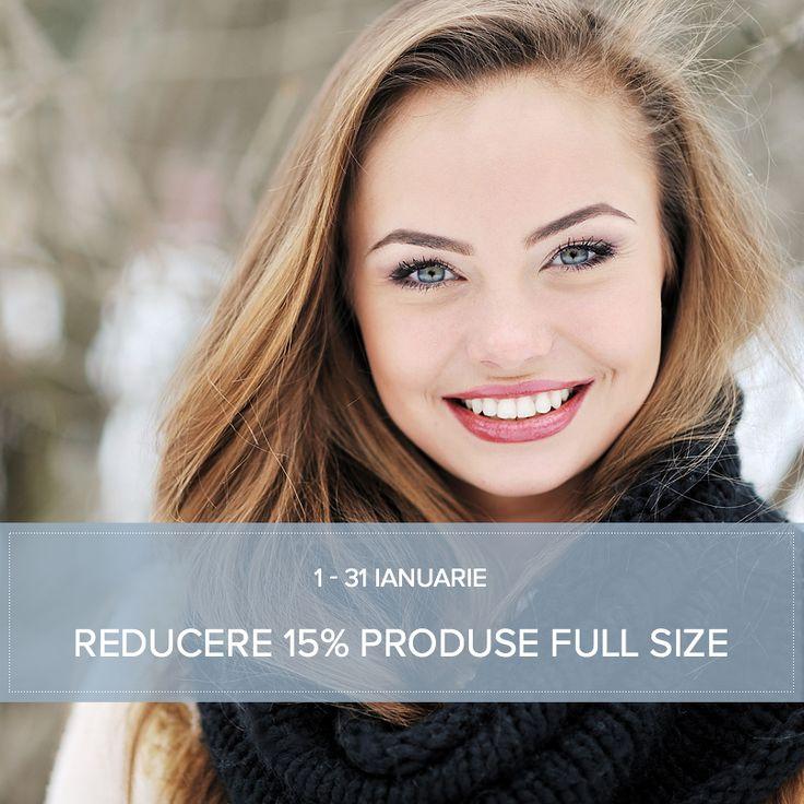 Îngrijirea corectă a pielii e esențială pentru a avea pielea sănătoasă și frumoasă, indiferent de vârstă. Alege orice produse full size în luna ianuarie și beneficiezi de o reducere de 15% pentru ele. Reducerea se aplică în coș, atunci când comanda ta este mai mare de 250 lei și utilizezi codul promoțional PAULA15 http://www.paulaschoice.ro/ *Reducerea nu se cumulează cu alte oferte, nu include contravaloarea transportului și nu se aplica mostrelor și mini produselor.