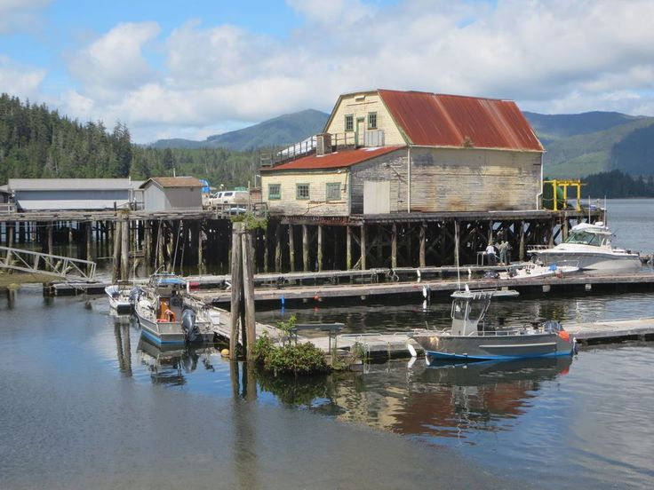 Winter Harbour Lodge offers rustic accommodations next to the marina at Winter Harbour on northwestern Vancouver Island, British Columbia, Canada.