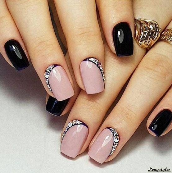 Nail Polish Games For Girls Do Your Own Nail Art Designs: Best 25+ Rhinestone Nail Designs Ideas On Pinterest