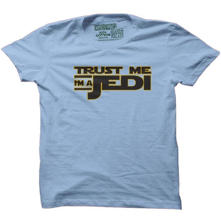 Trust Me, I'm a Jedi Kids Star Wars T-Shirt - Kid | Sandbox Threads