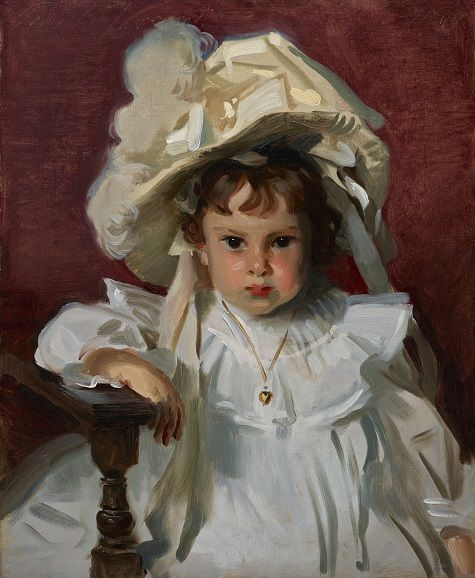 Dorothy by John Singer Sargent in 1900 A.D. From the Dallas Museum of Art.